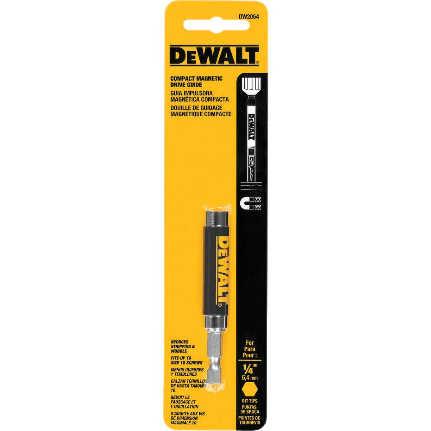 DeWalt 1/4 In. Hex x 3 In. Magnetic Bit Holder Image 3