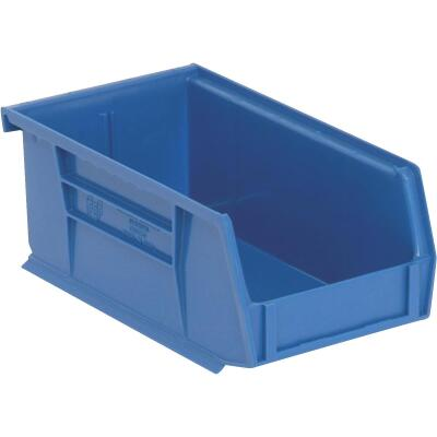 Quantum Storage Small Blue Stackable Parts Bin
