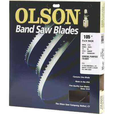 Olson 105 In. x 1/4 In. 6 TPI Skip Flex Back Band Saw Blade