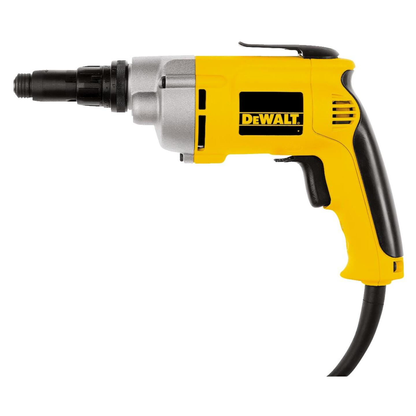 DeWalt 6.5A/2500 rpm 132 In./Lb. Torque Electric Screwgun Image 1
