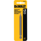 DeWalt Square Recess #2 3-1/2 In. 1/4 In. Power Screwdriver Bit Image 2