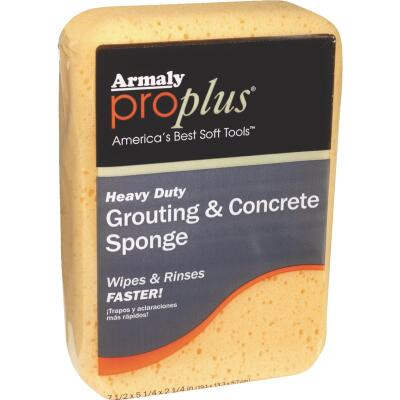Armaly ProPlus 7-1/2 In. L Concrete & Grout Sponge