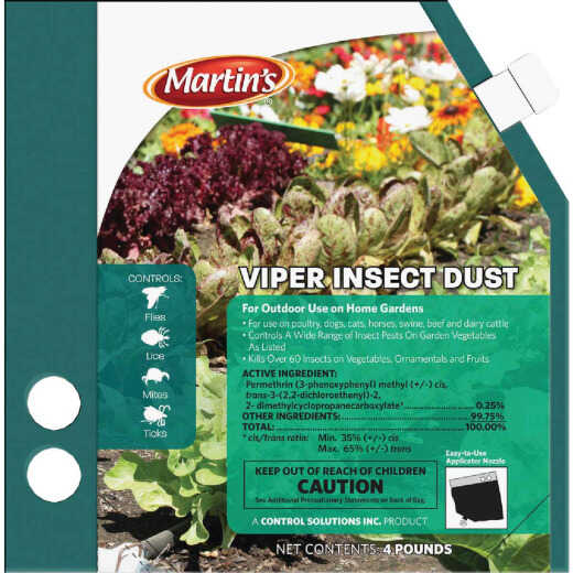 Martin's Viper 4 Lb. Ready To Use Powder Insect Killer