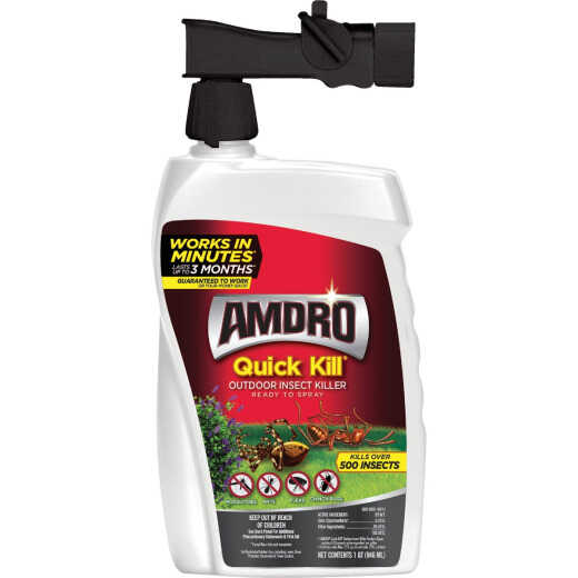 Amdro Quick Kill 32 Oz. Ready To Spray Hose End Insect Killer