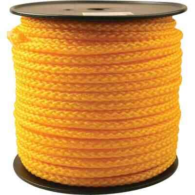 Do it 1/2 In. x 250 Ft. Yellow Braided Polypropylene Rope
