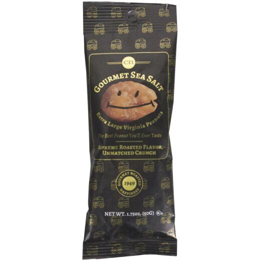 Mr. Smiley 1.75 Oz. Gourmet Sea Salt Peanuts
